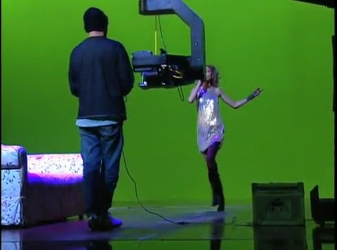 """Band Hero"" commercial shoot - Taylor Swift 480x356"