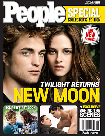 """New Moon"" Takes Over The Newstands"