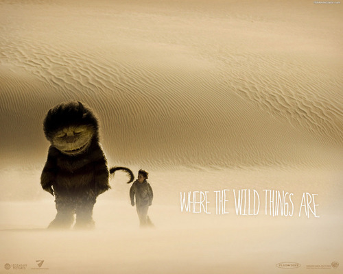 Film wallpaper called Where the Wild Things Are