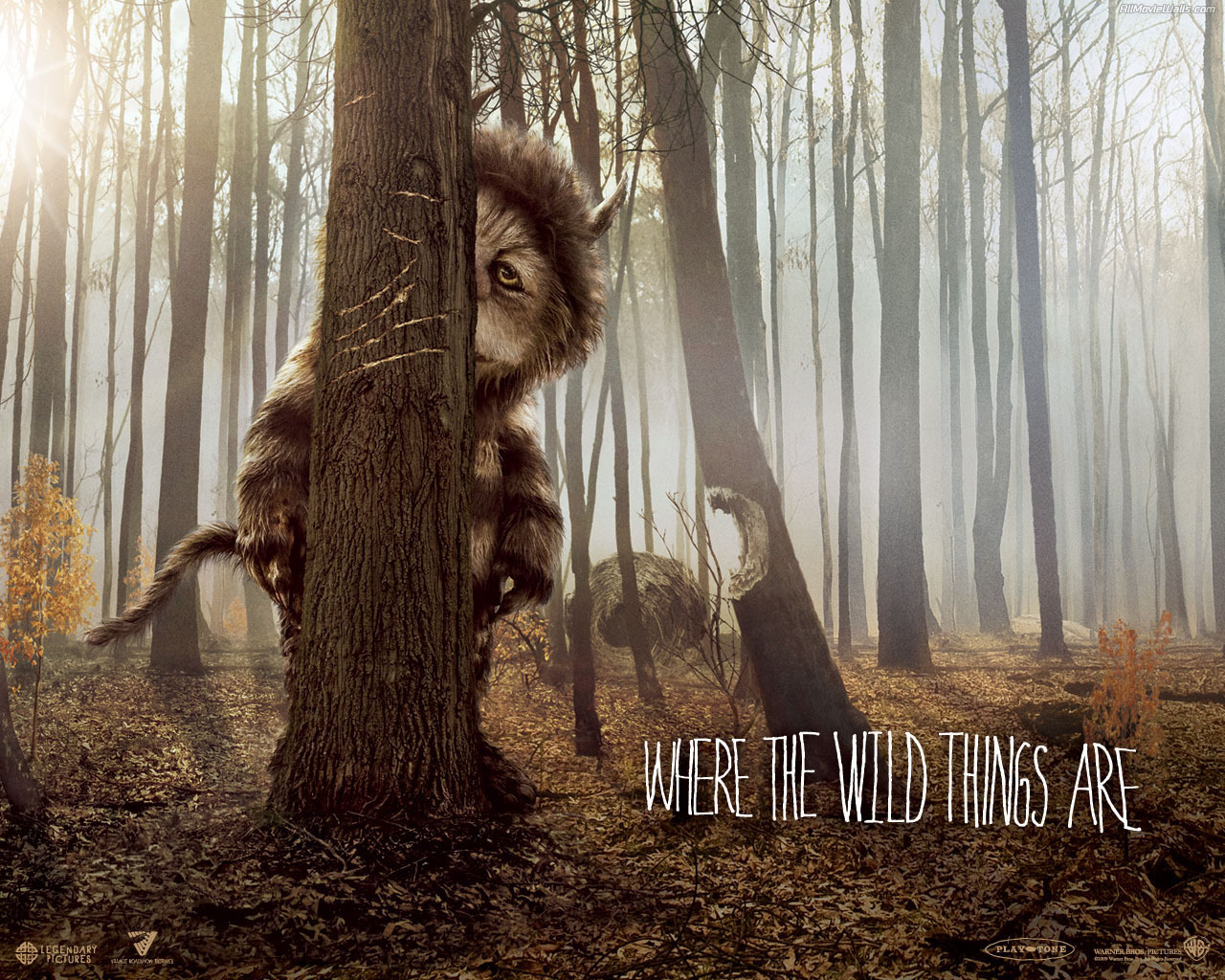 where the wild things are movies wallpaper 9133027
