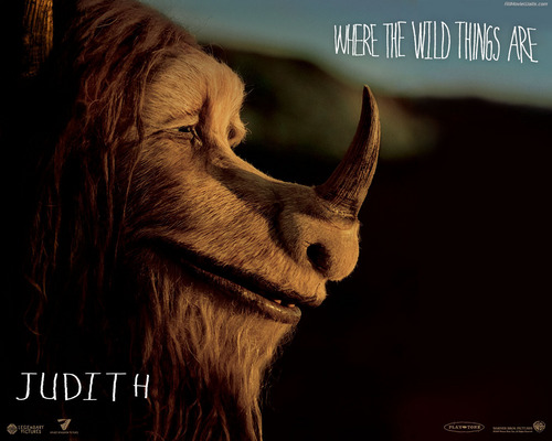 Movies wallpaper with a triceratops entitled  Where the Wild Things Are