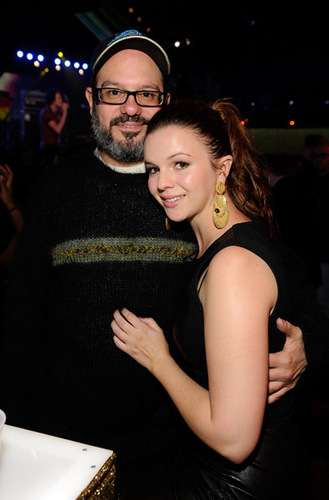 Amber Tamblyn kertas dinding entitled 2009 mtvU Woodie Awards (November 18, 2009)