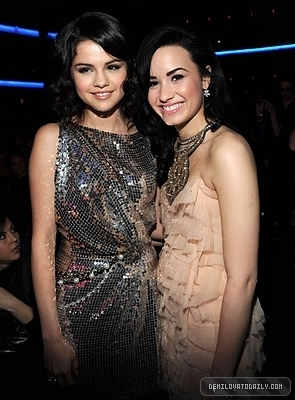 AMA's - selena-gomez-and-demi-lovato photo