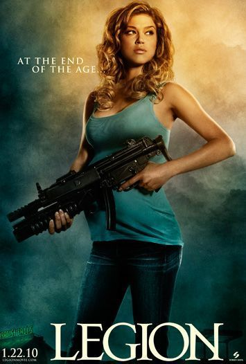 """Adrianne Palicki - """"Legion"""" poster"""