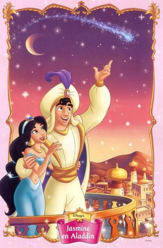 Aladin and jasmin