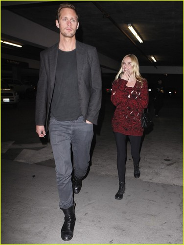 Alexander Skarsgard &amp; Kate Bosworth: Movie Night! - alexander-skarsgard Photo