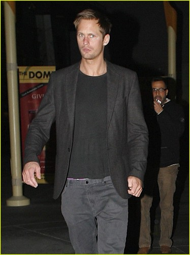 Alexander Skarsgard & Kate Bosworth: Movie Night!