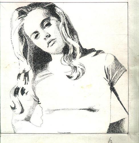 Alicia Silverstone Drawn with a Pointirism Technique