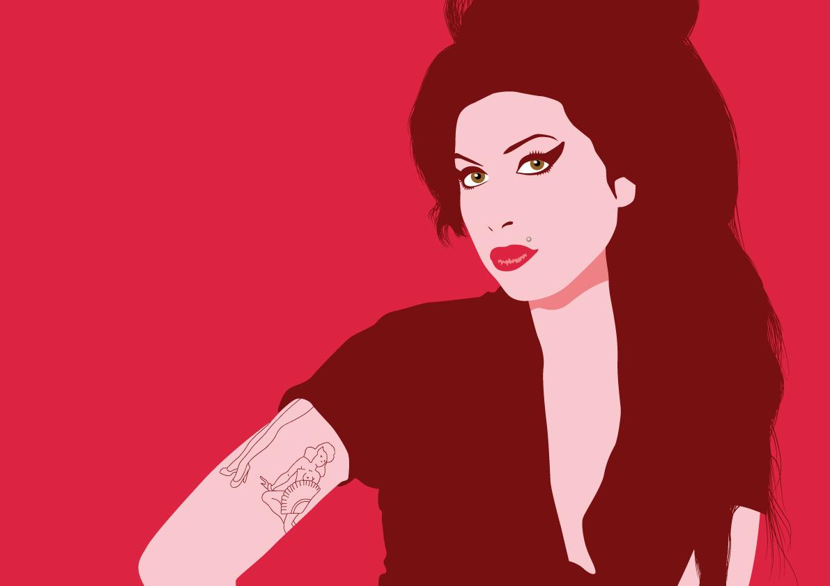 Wallpapers Digital Art Amy Winehouse Wallpaper Gallery