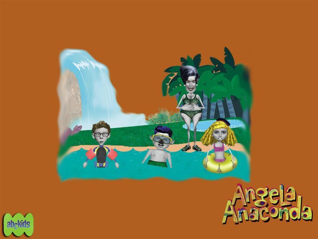 Angela Anaconda Spiele