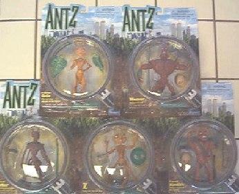 Ant Z specimens