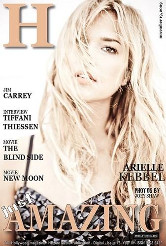 Arielle in H Magazine