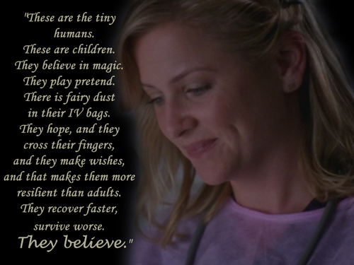"Grey's Anatomy Hintergrund entitled Arizona about ""her"" kids!"