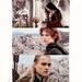 Arwen, Frodo, & Legolas
