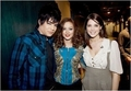 Ashley with Adam Lambert and Leighton Meester - twilight-series photo