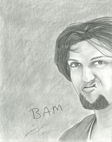 Bam Margera with Attitude