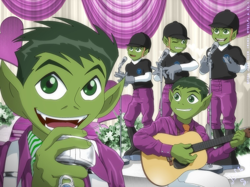 Beast Boy as Outkast  Teen Titans Photo 9112186  Fanpop