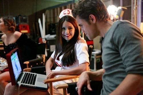 Behind the Scenes TVD.