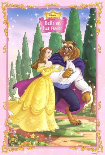 Disney Couples wallpaper probably containing anime called Belle and Beast