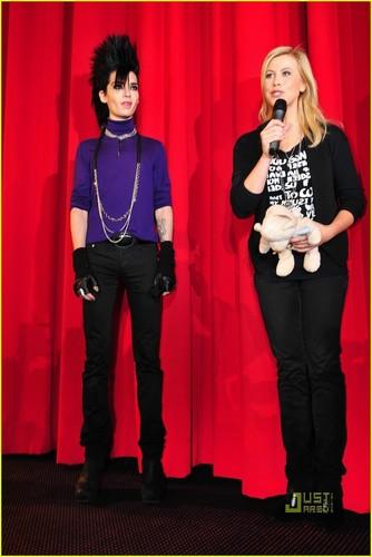 Bill Kaulitz Premieres Arthur and the Minimoys 2