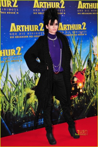Bill Kaulitz Premieres Arthur and the Minimoys