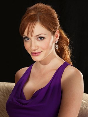 Christina Hendricks | Red Book Photoshoot