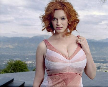Christina Hendricks wallpaper probably with attractiveness titled Christina Hendricks | Unknown Photoshoot