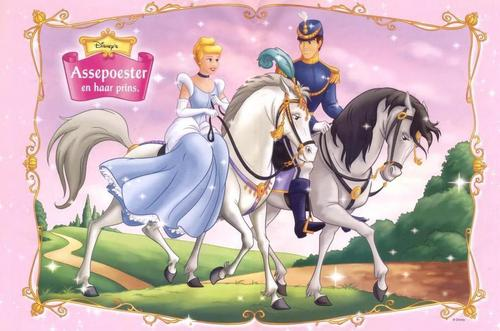 Disney Couples wallpaper containing anime titled Cinderella and Prince