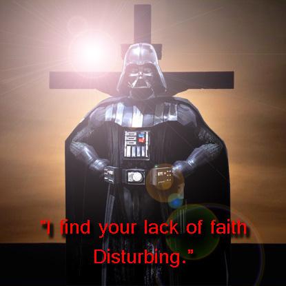 Darth Vader Goes Avangelist