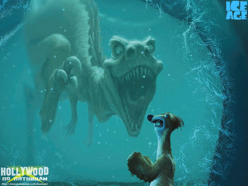 Ice Age Hintergrund called Dinosaurier The Prequel