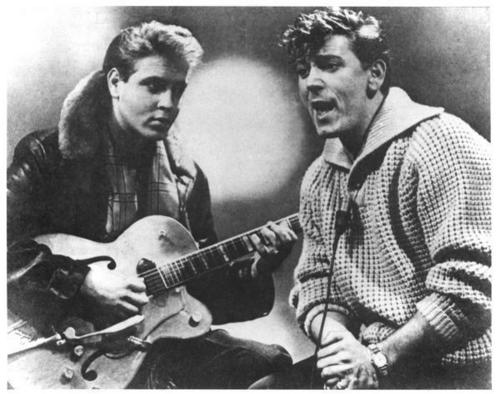 Eddie Cochran & Gene Vincent - rocknroll-remembered Photo