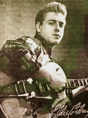 Rock'n'Roll Remembered wallpaper possibly containing a rifleman and a green beret entitled Eddie Cochran