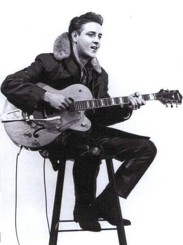 Rock'n'Roll Remembered वॉलपेपर probably containing a guitarist titled Eddie Cochran