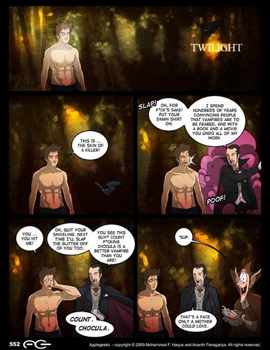 Edward meets Dracula