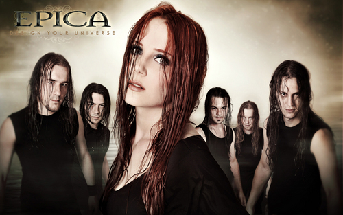 Symphonic Metal 壁紙 possibly with a well dressed person and a portrait titled Epica