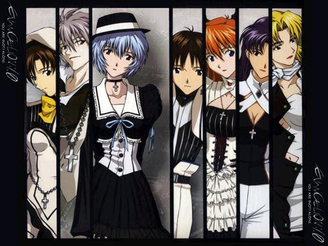 Evangelion Gothic Lolita