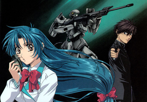 FULL METAL PANIC wallpaper with anime called FMP