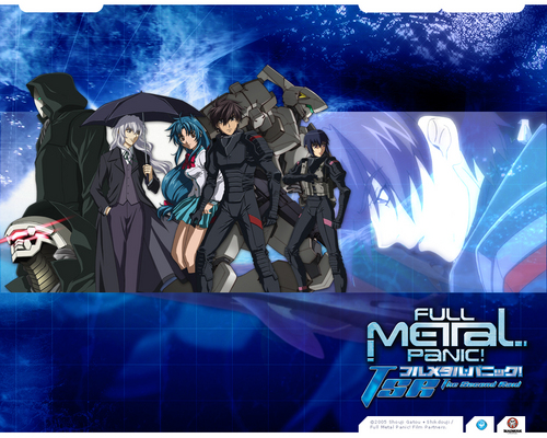 FULL METAL PANIC wallpaper probably containing anime titled FMP