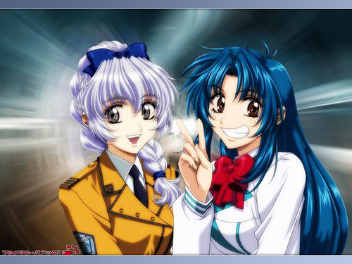 FULL METAL PANIC 바탕화면 possibly containing 아니메 entitled FMP
