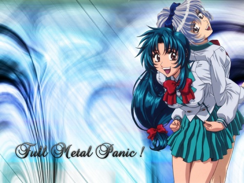 FULL METAL PANIC 바탕화면 containing 아니메 entitled FMP