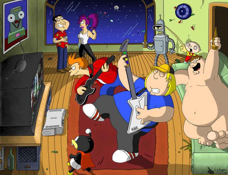 Family Guy Meets Futurama