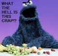 Funny cookie monster - sesame-street photo