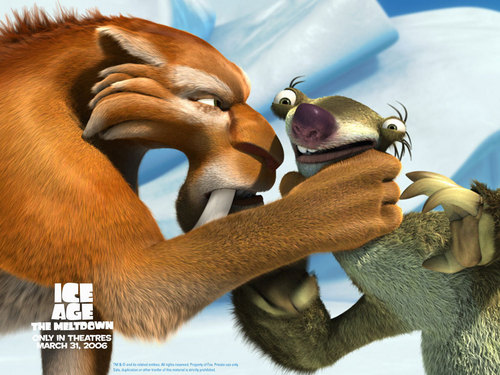 Ice Age Hintergrund called Good thing I know Du better