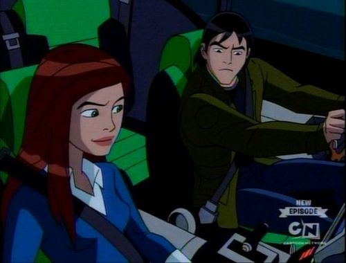 Ben 10 – Alien Force fond d'écran containing animé entitled Gwen and Kevin