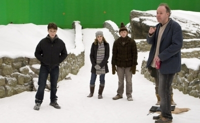 HBP set - daniel-radcliffe Photo