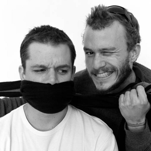 Heath Ledger + Matt Damon