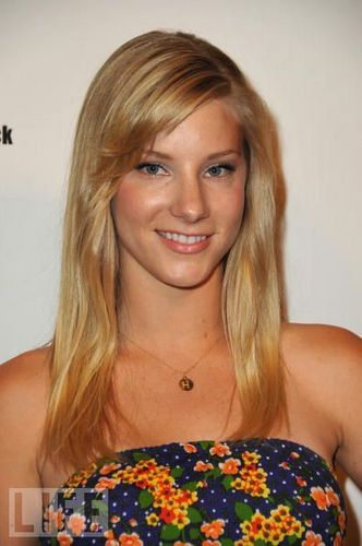 Brittany kertas dinding with a portrait entitled Heather Morris