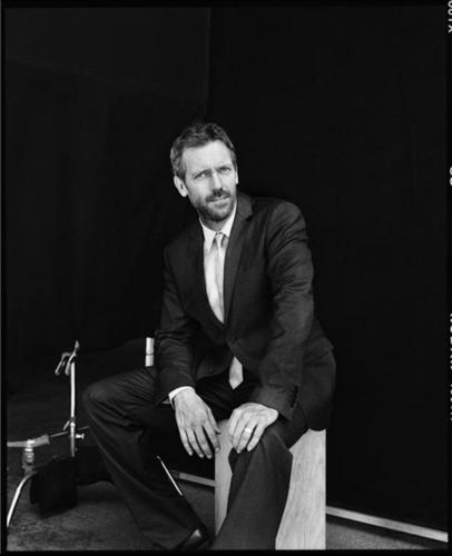 Hugh Laurie EW photoshoot outtake