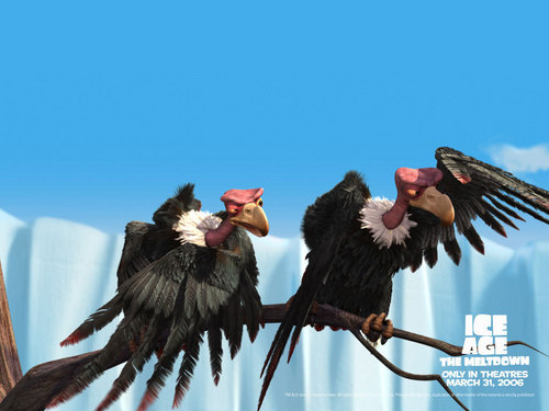 Ice Age wallpaper entitled I call the dark meat!
