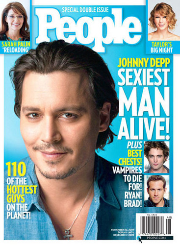 JOHNNY DEPP- THE SEXIEST MAN ALIVE 2009